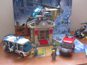 Lot of Lego Police Sets