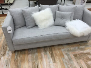 Looking to purchase a grey /brown leather couch