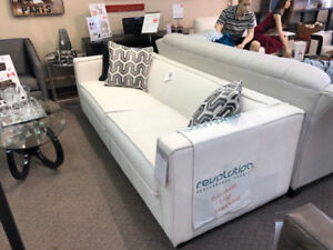 Fabric Sofa with Protected Fabric - Floor Model - Never Used