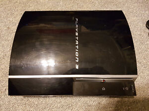 Sony Playstation 3 PS3 Fat Console - For Parts Only - As Is, Not London Ontario image 2