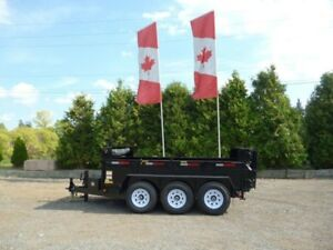 10 Ton Contractor Dump Trailer - Factory Direct