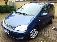 55 PLATE FORD GALAXY 1.9 TD ZETEC AUTO 7 SEATER WARRANTED MILEAGE VGC