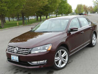 2013 Volkswagen Passat Highline Sedan