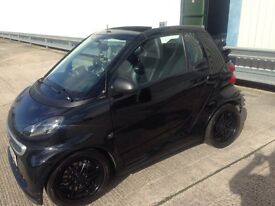 Smart Fortwo brabus convertible