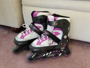 Rollerblades - Girls size 1-4. Boys can wear them too, I suppose