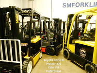 SMforklift chariots retour de locations forklifts lease return