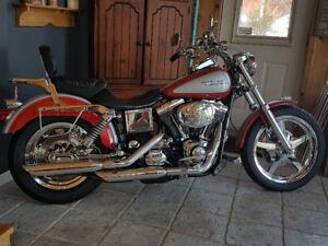 Moto Harley Davidson dyna Low Rider 2002