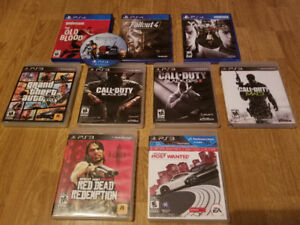 PS4 & PS3 Game For Sale