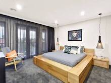 Pod King Bedframe, Mattress and Side Tables - As New. Coburg North Moreland Area Preview