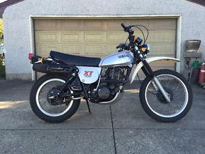 MINT 1981 Yamaha XT500