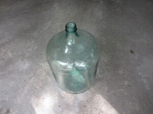 Wine making 54 L glass carboy