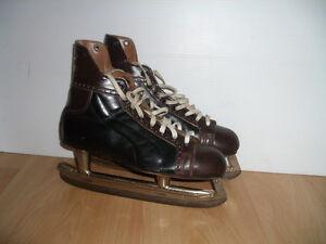 Retro/ Vintage patins all leather skates size 9 US men regular