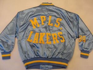 Mitchell & Ness Lakers Retro Vintage George Mikan Jacket