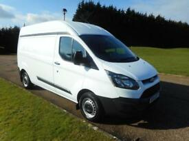 2014 14 FORD TRANSIT CUSTOM 2.2TDCI 6SPEED LWB H2 ROOF EURO 5 CLEAN VAN