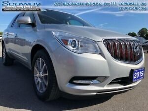 2015 Buick Enclave LEATHER AWD  - Ex-lease - Leather Seats - $20
