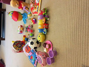 Lot of baby/toddler toys