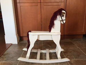 Authentic Wooden Rocking Horse