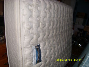 FS: Queen Serta mattress set, also IKEA FJELLSE double set