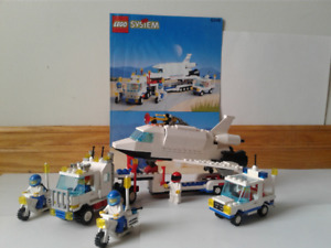 LEGO 6346 Shuttle Launching Crew VTG 1992/ complete
