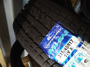 one only (NEW)215/45R17 Cooper WM-SA2 winter tire *Steve's Tire*