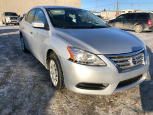2013 NISSAN SENTRA  LOW KMS LOADED ONLY 77386 KM