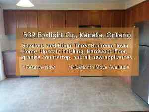 Fully Updated 3 Bedroom 2.5 Bath Family Home Ottawa West