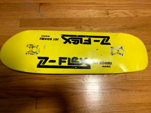 Z-Flex cruiser skateboard deck