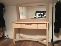 Bargain bedroom set. Dressing table, chest of drawers & bedside cabinet!!