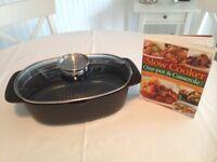 Casserole pot with one pot casserole cook book
