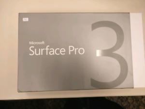 Microsoft surface pro 3 brand new i7 512gb in box