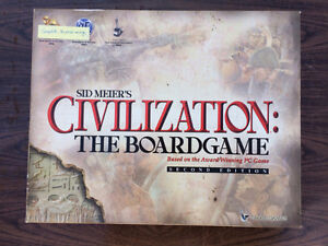 Sid Meier's Civilization: The Boardgame by Eagle Games