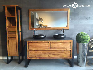 -20% BIG ONLINE SALE !TEAK WOOD VANITY SETS