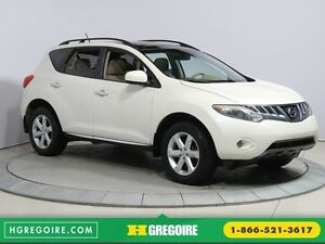 2009 Nissan Murano S AWD A/C MAGS BLUETOOTH