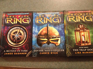Brand New 3 Book Set Infinity Ring Series (hard cover) London Ontario image 1