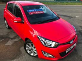 HYUNDAI i20 1.4 STYLE+ £30 WEEK 1 OWNER REVERSE CAM BLUETOOTH MP3 5DR HATCH 2013