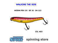 Walking The Dog Moran Pen 135 Col M03 Gr 30 Pesce Serra -  - ebay.it
