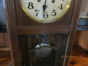 + Old Clock with Windup Key + London Ontario image 1