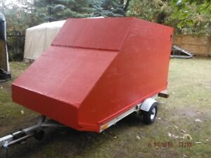 SNOWMOBILE TRAILER ENCLOSED 11ft. 5 ft.