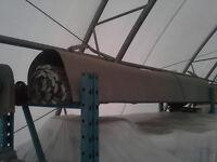 Porte de garage coupe feu en acier