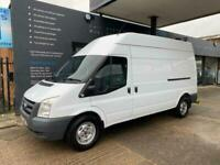 2011 Ford Transit 2.4 350 LWB HIGH ROOF 100 BHP PANEL VAN Diesel Manual