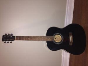 Black Acoustic Guitar!