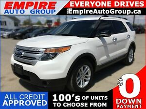 2013 FORD EXPLORER XLT * AWD * LEATHER * SUNROOF * REAR CAMERA *