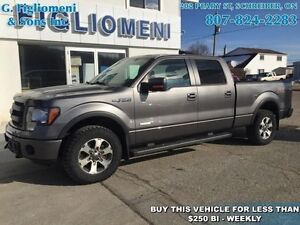 2013 Ford F-150 FX4  - Bluetooth -  SiriusXM - $247.47 B/W
