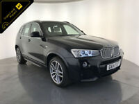 2014 BMW X3 XDRIVE35D M SPORT AUTOMATIC 4WD 1 OWNER SERVICE HISTORY FINANCE PX