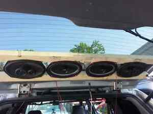 Speakers, amps, subwoofers