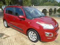 Citroen C3 PICASSO 1.6 VTi Exclusive EGS6 5dr (red) 2014