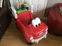 Little tikes fire car