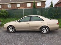 2005 Toyota Camry automatic fully equipped 4door Sedan