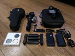 DJI OSMO + Accessories