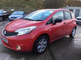 Nissan Note 1.2 ( 80ps ) 14 64 Visia Limited Edition